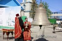 На Свято-Никольский собор в Камышине установили колокол