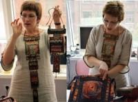 В соборе Камышина модельер провела мастер-класс