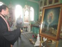 Крестный ход с почитаемой чудотворной иконой
