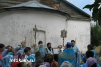 В Заволжье отметили 25-летие храма