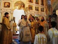 Архиерейское богослужение в Покровском храме