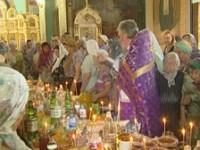 Православные отмечают Медовый спас
