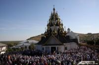В Волгоградской области освятили 33-купольный храм