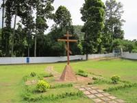 Освящение территории православного кладбища