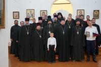 Духовенство Ростовской епархии посетило мужской монастырь