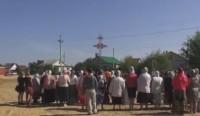В Урюпинске освятили поклонный крест