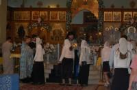 Молебен в Свято-Духовом монастыре