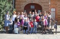 Первый день занятий в воскресной школе «Радуга»
