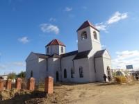 Храм Свято-Троицкий в рабочем посёлке Красный Яр Жирновского района Волгоградской области