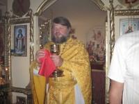 Освящение храма в п. Ильмень