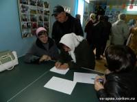 Сельский сход в хуторе Нижнеосиновском
