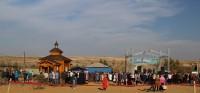 Волгоградские казаки получили священный подарок