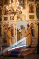 Богослужение в Покровском храме