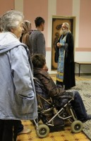 Молебен в туркомплексе «Волжский»