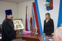 Иерей Алексий Маслов поздравил нового градоначальника