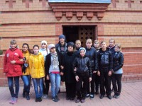 Студенты помогли очистить Святой источник