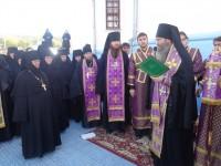 Божественная Литургия в монастыре