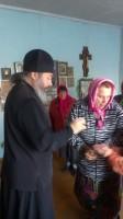 Владыка Иоанн посетил храм в с. Колобовка