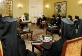 Патриарх Кирилл встретился со слушателями курсов