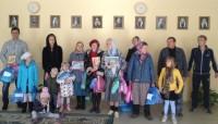 Подарки многодетным семьям Покровского храма