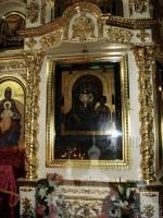 В Казанский собор привезены святыни