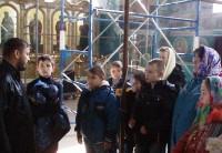 Экскурсия учащихся кадетской школы в храм