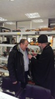 Епископ Иоанн встретился с директором завода