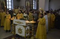 Божественная Литургия в Никольском кафедральном соборе