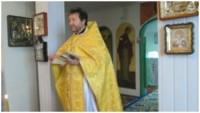 Богослужение в храме х. Калмыковский