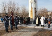 Митинг и лития в посёлке Средняя Ахтуба