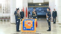 В Волгограде освятили знамя МЧС региона
