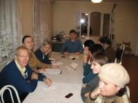 Встреча в литературном клубе