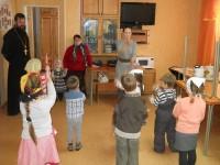 Подготовка к Рождеству в воскресной школе «Радуга»