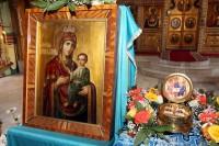 Прибытие святынь Ташкентской и Узбекистанской епархии