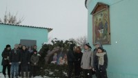 Экскурсия московских кадетов в храм ст. Клетской