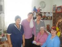 Рождественское поздравление пожилых и инвалидов