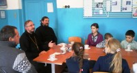 Встреча со школьниками в Кременской школе