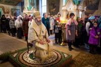 Ахриерейское богослужение в Покровском храме