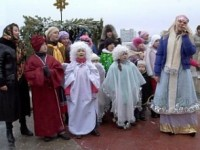 Празднование Рождества Христова в Волгограде