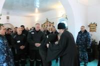 Владыка Иоанн посетил ИК 154/12 г. Волжский