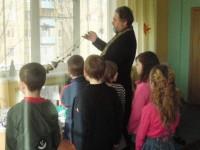 Протоиерей Анатолий Сафонов посетил Волжскую школу-интернат