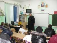 Иерей Игорь Дмитриев выступил на собрании
