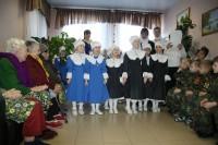 Воспитанники детского сада побывали в Доме престарелых
