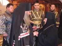 Игуменья Георгия отмечена орденом за труды свои