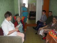 Миссионерские беседы  в доме-интернате