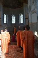 Богослужение в храме ст. Голубинской