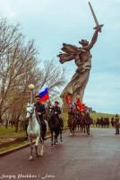 Казаки Юга России отправились в конный поход