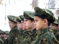 Парад учащихся кадетских школ