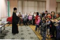 Пасхальный молебен для вынужденных переселенцев