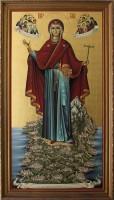 В Волгоград прибыл образ Богородицы «Игуменья Афона»